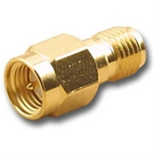 IN-LINE SPLICE ADAPTER, SMA (M) MALE TO SMA (F) FEMALE