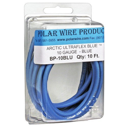 ARCTIC ULTRAFLEX BLUE® 10 AWG SINGLE CONDUCTOR WIRE, PRE-PACKAGED