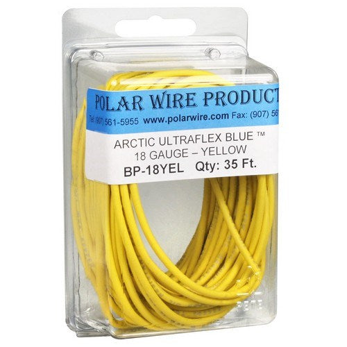 ARCTIC ULTRAFLEX BLUE® 18 AWG SINGLE CONDUCTOR WIRE, PRE-PACKAGED