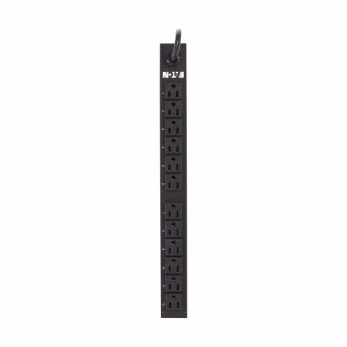 BASIC RACK PDU, 1U, 1.44 KW MAX, 100-127V, 12A, 15' 5-15P LINE CORD, 1-PHASE, OUTLETS: (12) 5-15R