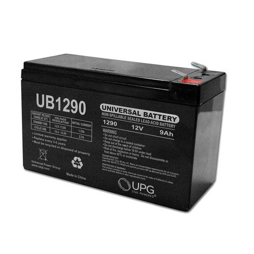 UB1290 12V 9AH F2 AGM SEALED LEAD-ACID (SLA) BATTERY