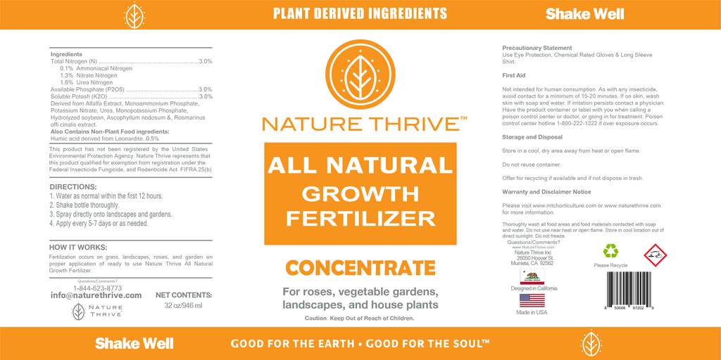 ALL NATURAL FERTILIZER