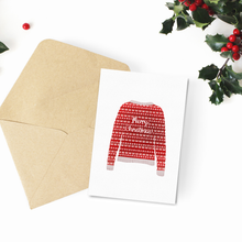 Christmas Jumper Card Pack - Poppins & Co.