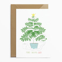 Phoebe Florence x Poppins & Co - Christmas Tree Loo Roll Card - Poppins & Co.