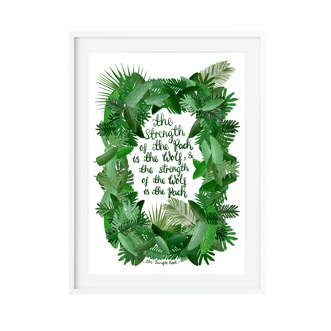 The Jungle Book Art Print - Poppins & Co.