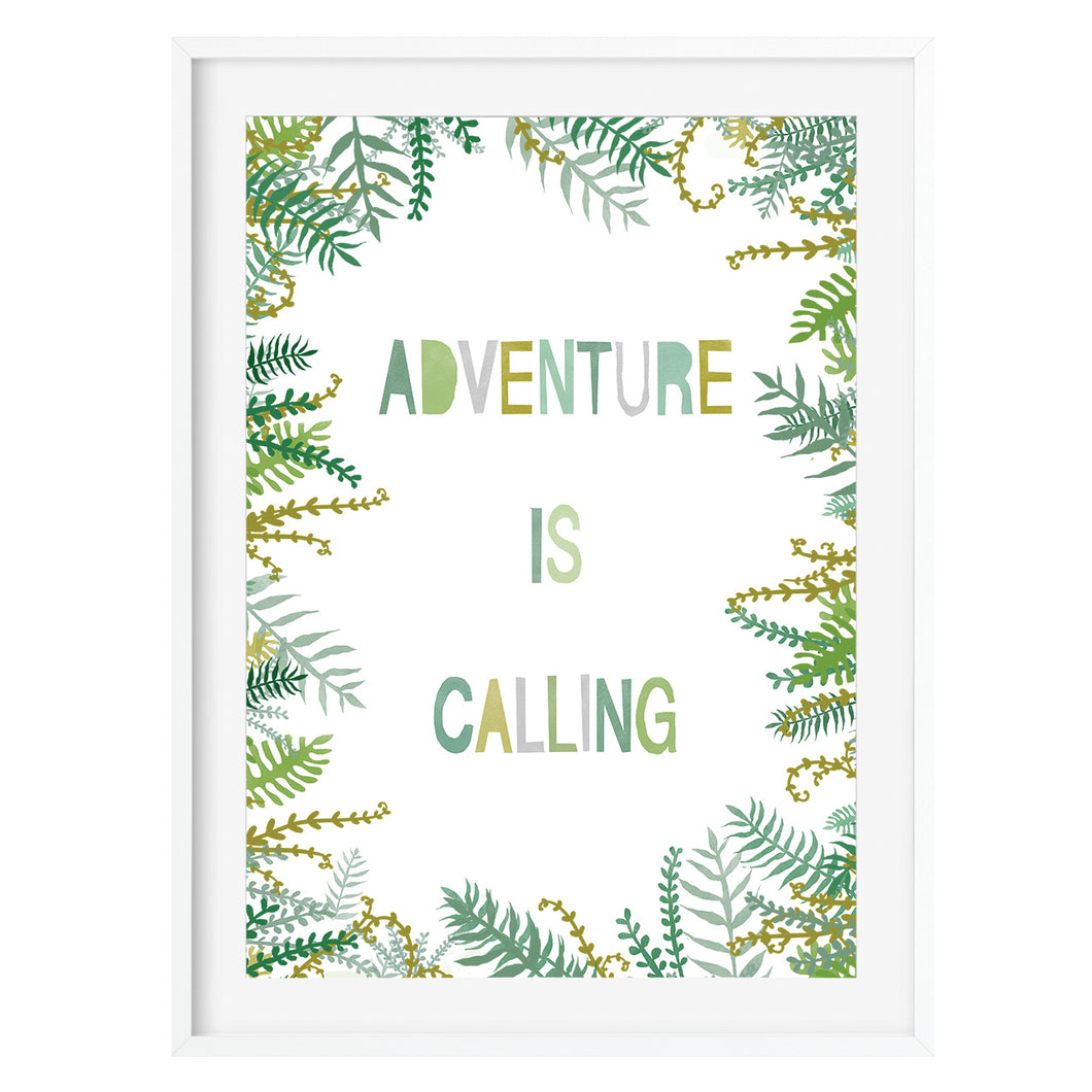 Adventure Is Calling Art Print - Poppins & Co.