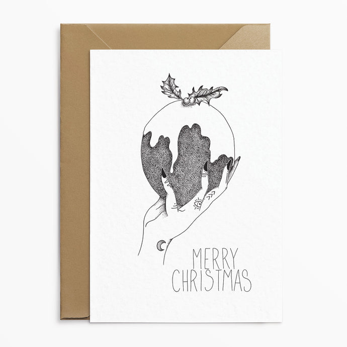 Christmas Pudding - Alternative Christmas Card - Josephine Nova x Poppins & Co.