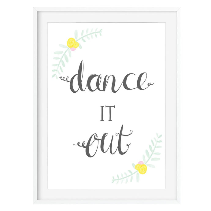 Dance It Out Print - Poppins & Co.