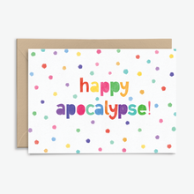 Happy Apocalypse Quarantine Card - Letters From Lockdown Collection - Poppins & Co.