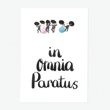 In Omnia Paratus Gilmore Girls Art Print - Poppins & Co.