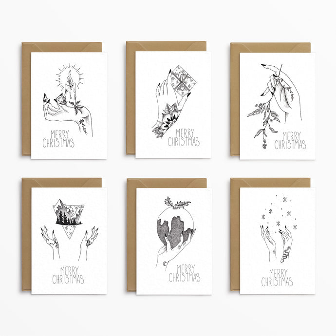 Alternative Christmas Cards - Josephine Nova x Poppins & Co.