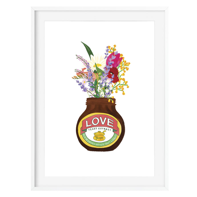 Love Yeast Extract Inspired Art Print - Poppins & Co.