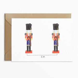 Toy Soldier Lockdown Christmas Card - Phoebe Florence x Poppins & Co.