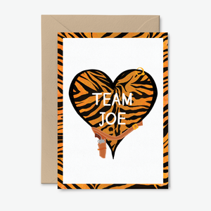 Team Joe Exotic Tiger King Themed Card by Poppins & Co