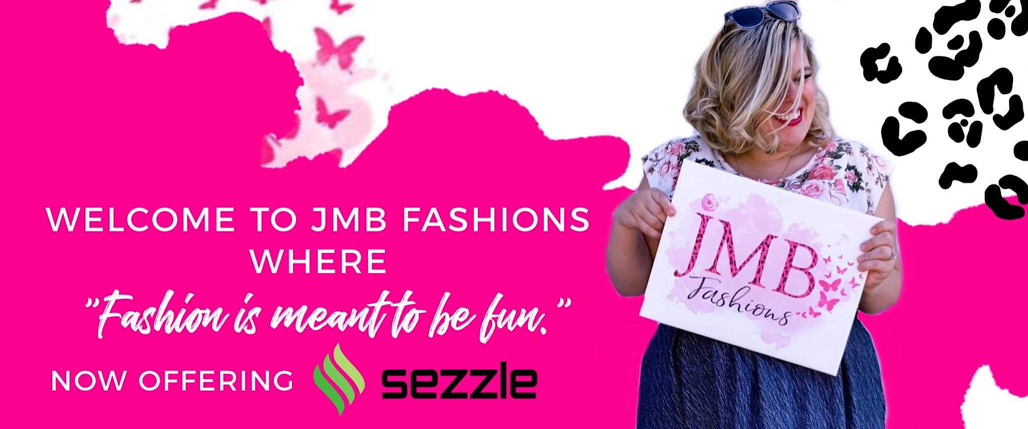 JMB Fashions where fashion is meant to be fun