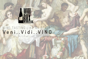 Veni..Vidi..VINO - Winebox Inc throw a wine party !