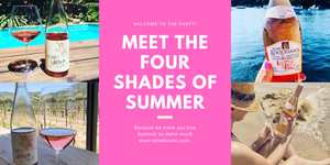 #WineboxPink | Meet the four shades of Summer
