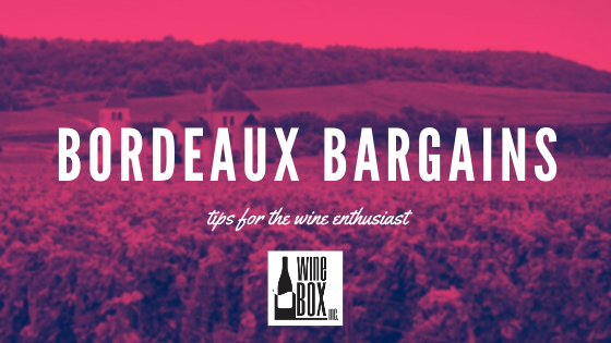Tips for Bordeaux Bargains