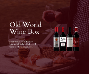 Old World Red Winebox (Four Bottles)