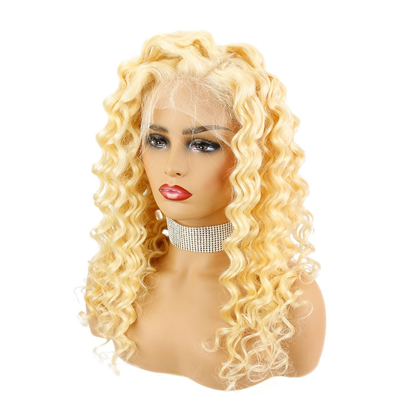 613 Full Lace Italian Curly Wig