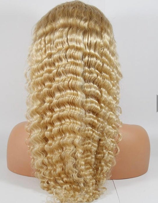 613 Full Lace Deep Wave Wig