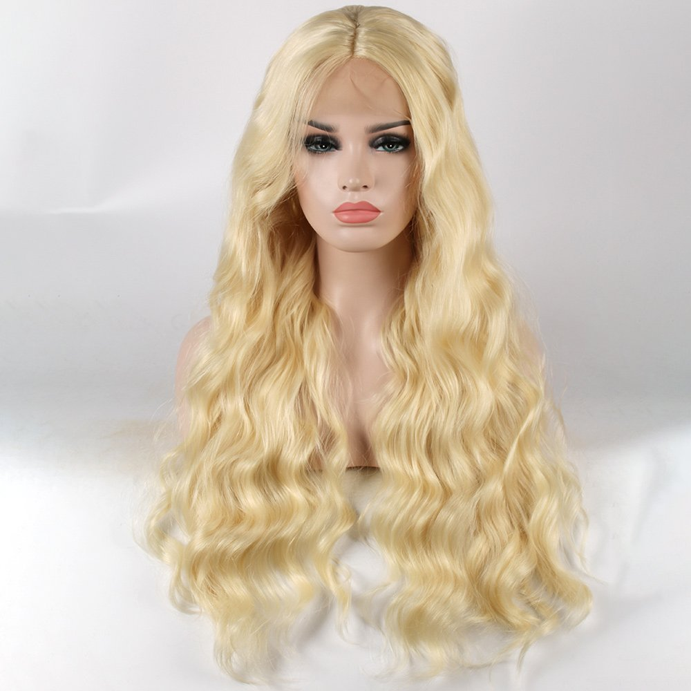 613 Full Lace Natural Wavy Wig
