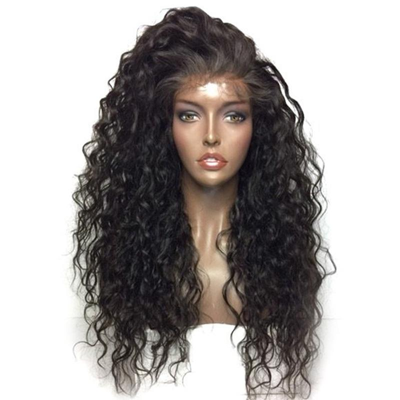 Natural Wavy Lace-Front Wig