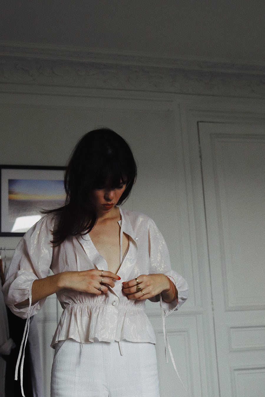 ETHER Blouse | L'Or