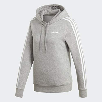 adidas Women's Essentials 3-stripes Fleece Hoodie Sweatshirt