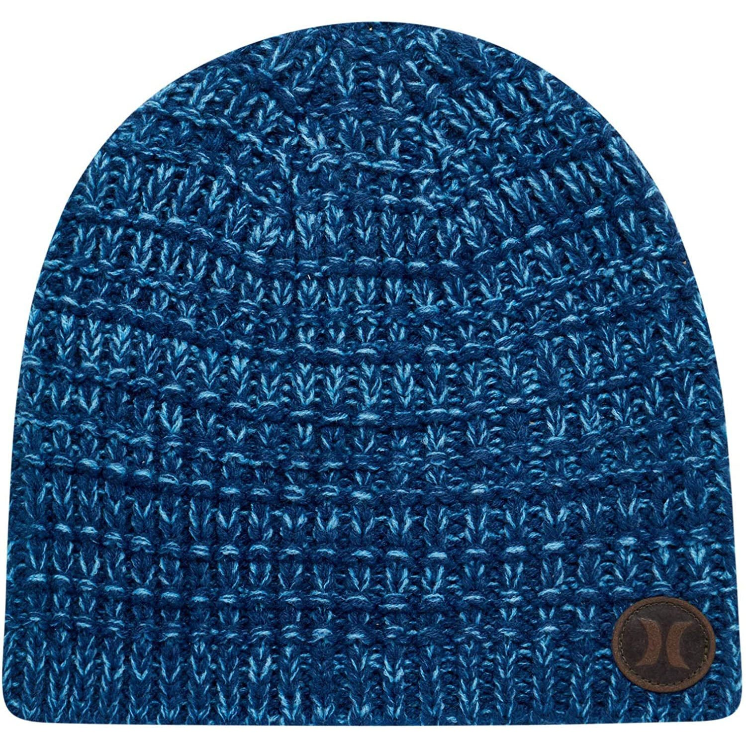 Hurley Men's Winter Hat - Loose Knit Marled Beanie