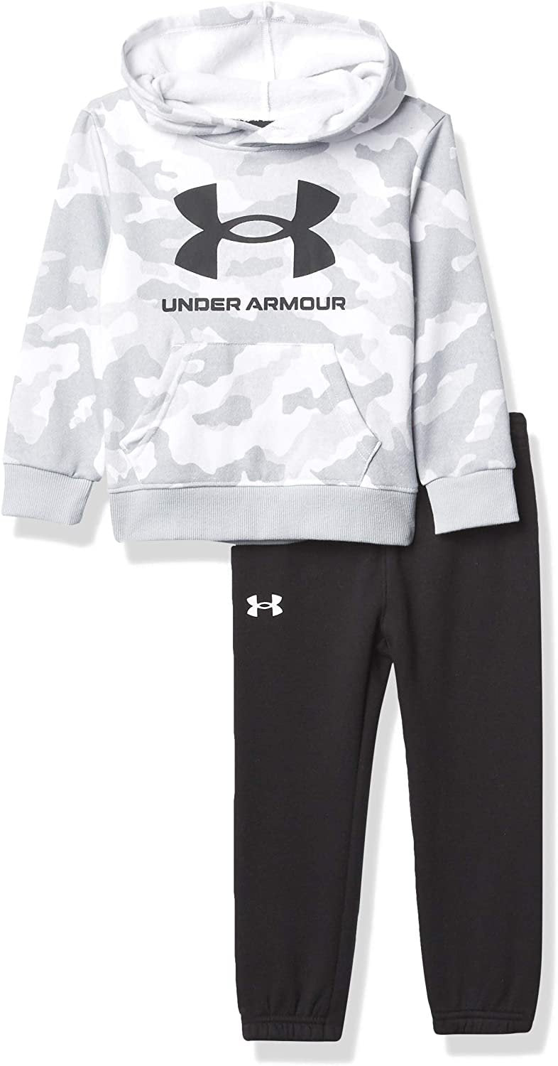 Under Armour mens Ua Rival Symbol Hoodie Set