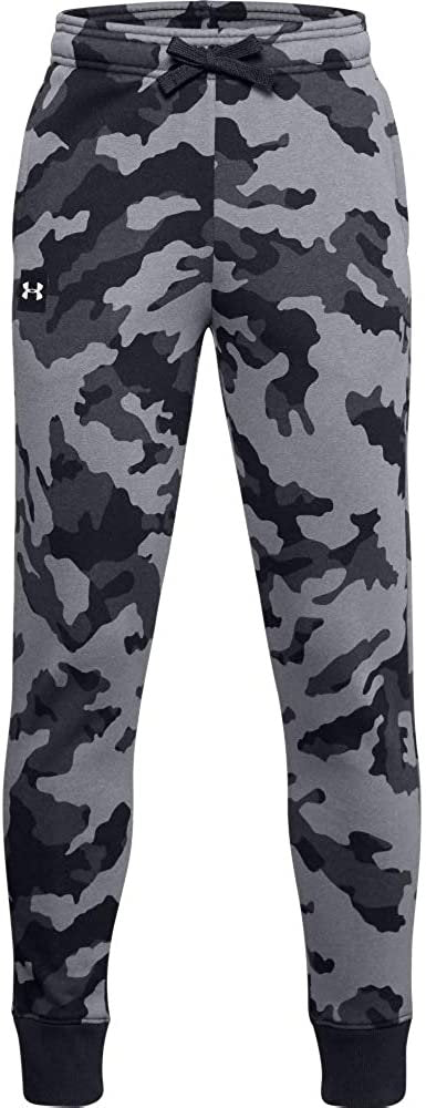 Under Armour Boys Rival Fleece Printed Joggers