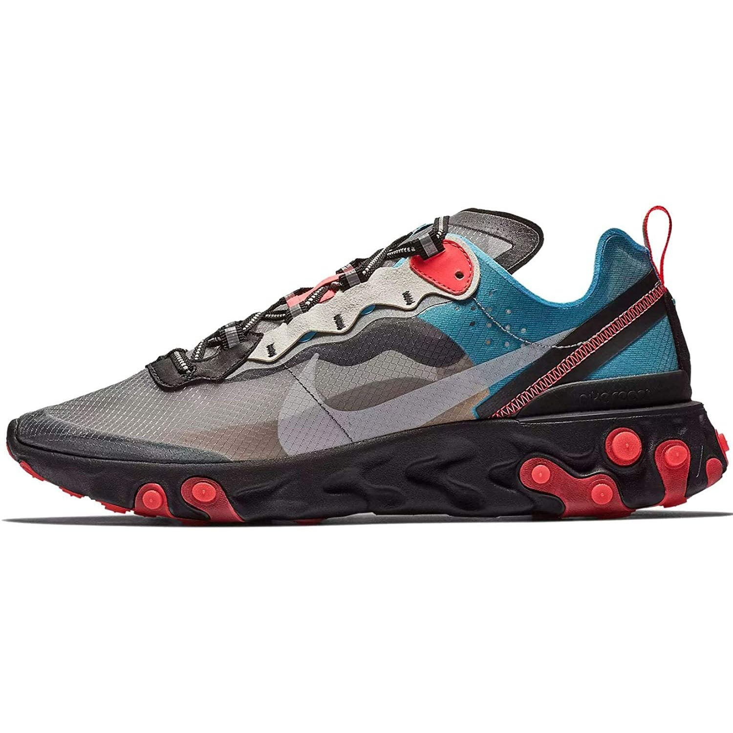 Nike React Element 87 Mens Casual Running Shoes Aq1090-001