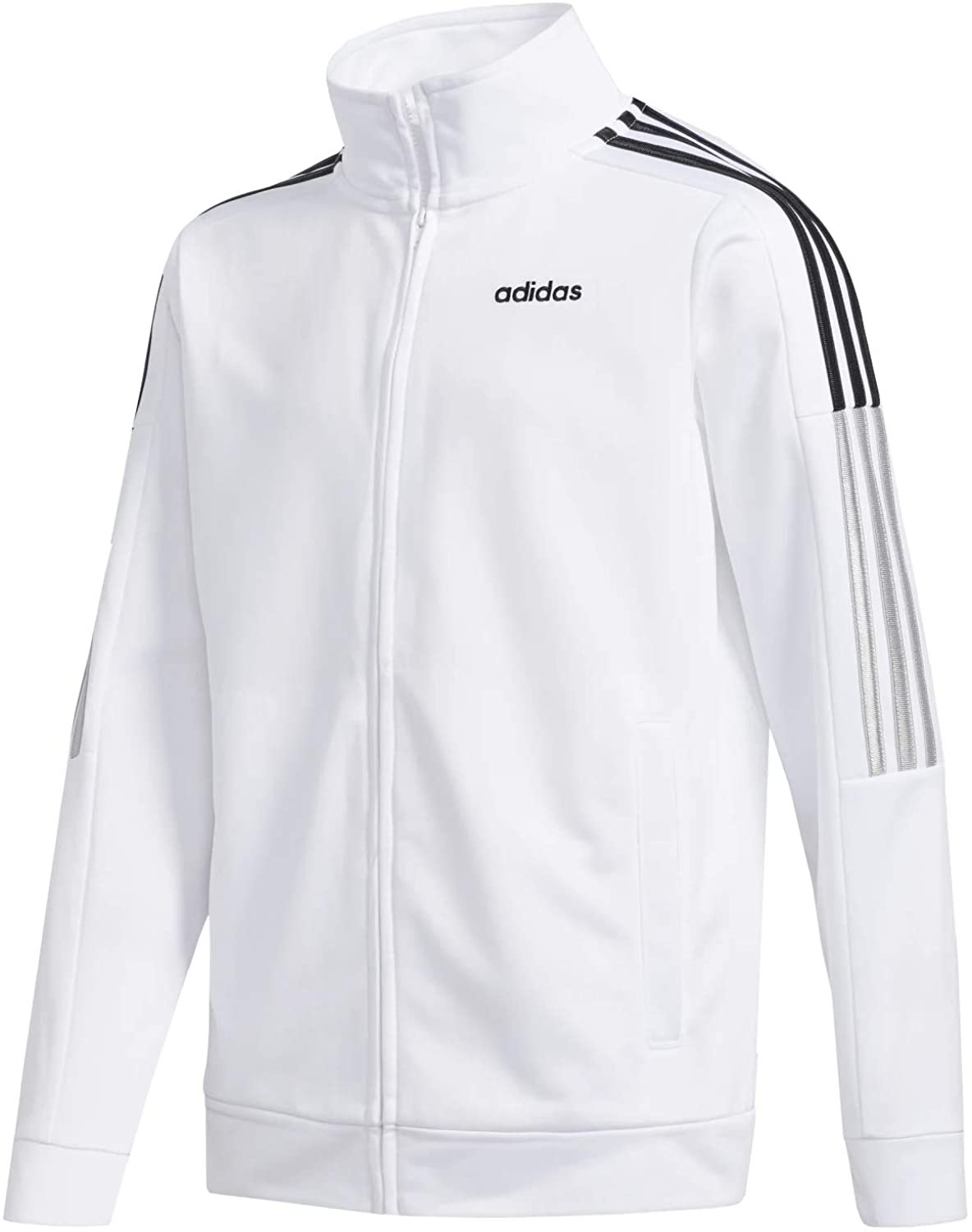 adidas boys Tricot Active Track Warm-up Jacket