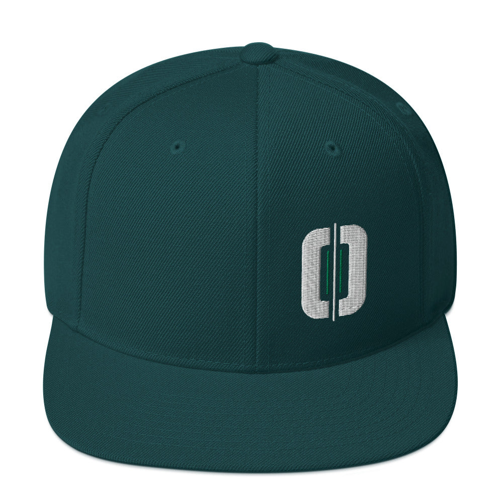 Straight Up Snapback - GOLFWOD