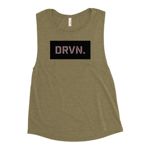 DRVN. Patch Muscle Tank - GOLFWOD