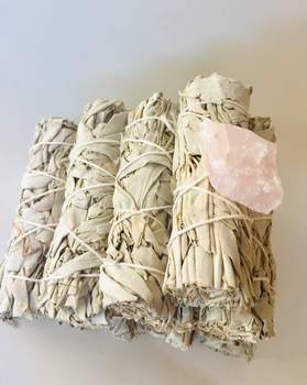 New Product! California White Sage & Palo Santo!