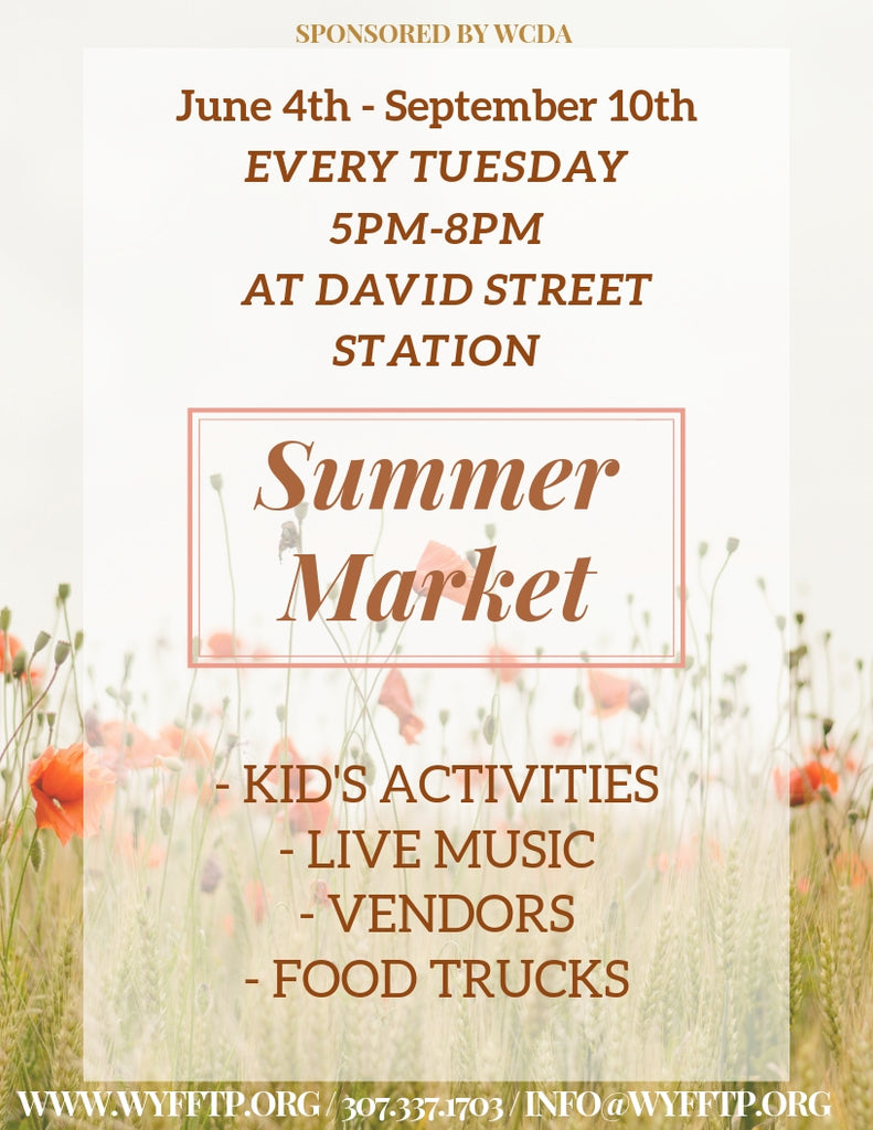 Food for Thought Summer Market 2019