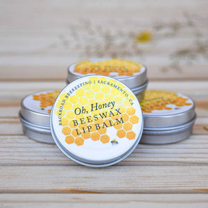 Oh, Honey Beeswax Lip Balm