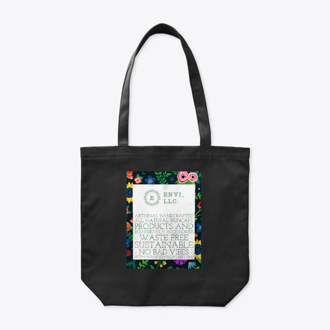 Black Tote Bag - Envi, LLC.