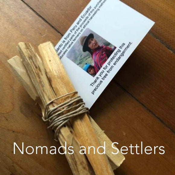 SUSTAINABLE Palo Santo