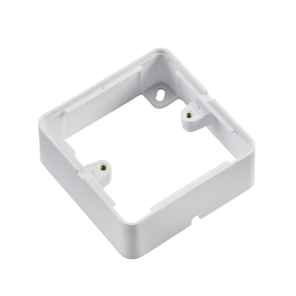 ML Accessories-1GSBW 1G Surface Box - White