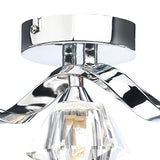 Ancona 5 Light Bar Flush Polished Chrome