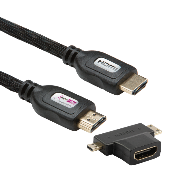 ML Accessories-AV8 3m High Speed HDMI Cabling Kit