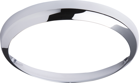 ML Accessories-BF14BCHR Chrome Bezel for 14W BF LED Bulkhead 300mm