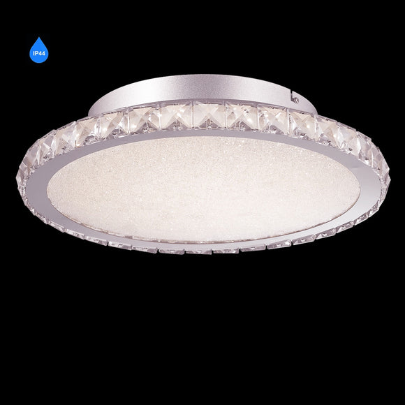 Large LED Flush IP44 26W Integrated LED