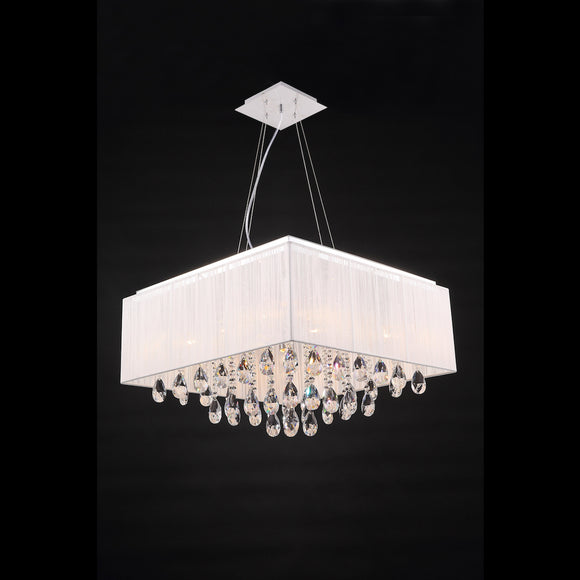 6 Light Pendant/Flush **CLEARANCE** 6 x 40W E14 Maximum