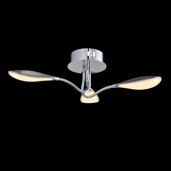3 Arm LED Ceiling Light 3000K **CLEARANCE** 3 x 3.5W Integrated LED