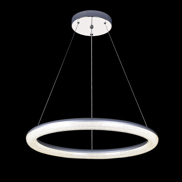 LED Round Pendant with Remote 36W Integrated LED