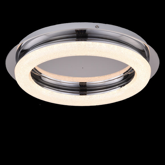 LED Round Small Flush with Remote 24W Integrated LED